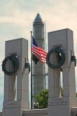 World War II Memorial and the Washington National Momument